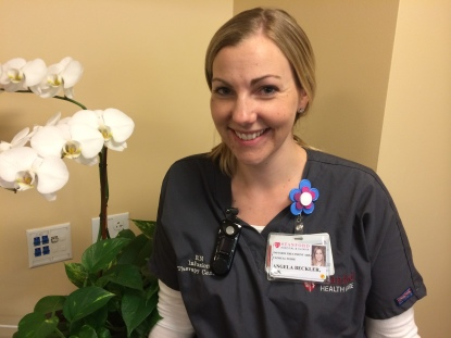 """Angie is very knowledgeable, compassionate, and kind. She always makes her patients feel comfortable and at ease. Angie has a calming and peaceful presence, and she is an excellent skilled nurse and awesome team player."""