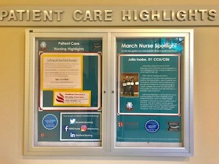 Patient Care Highlight Board